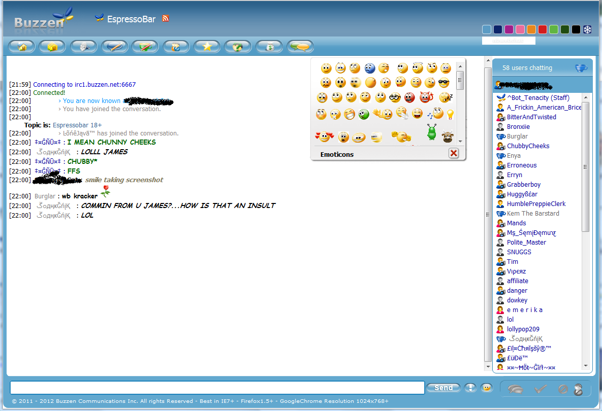 Webchat v2 Client: Chat Room Buzzen Theme/Template